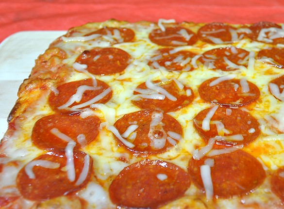 Cheese and Pepperoni Pizza - Item # 827 - Dave's Fresh Marketplace Catering RI